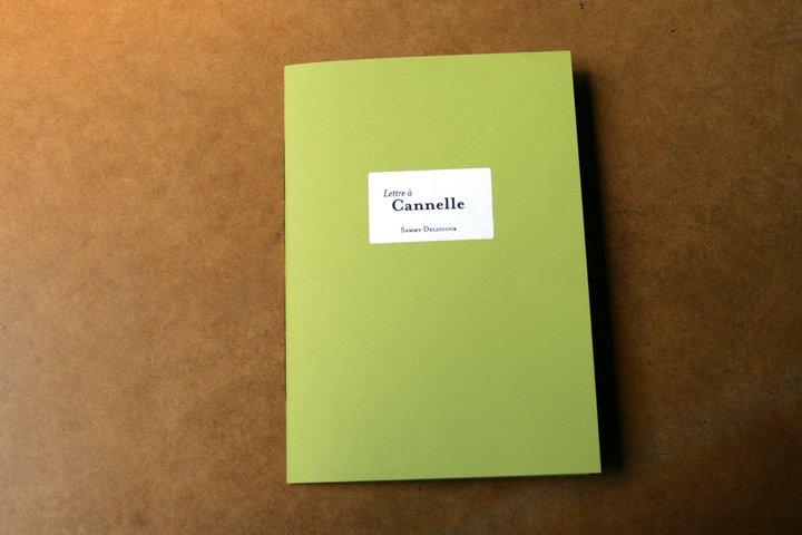 Lettre à Cannelle - 1