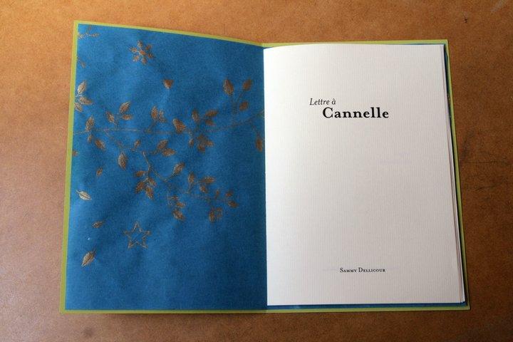 Lettre à Cannelle - 2